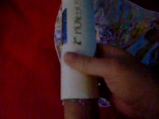 Using my home-made ZOIG toy to get off while looking at pics of my SIL. Those are her undies I came on...