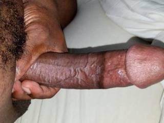 Fully erect and throbbing...come take this deep in your throat