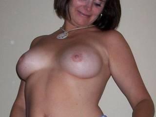 sexy MILF tits
