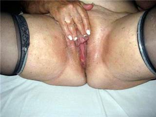 That is one beautyiful clit i would  love to suck on till you cumm  on my face