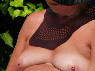 Yes....   the sun is so harmfull.... I would be delighted to oblige with a slow all over oil massage  ;-)