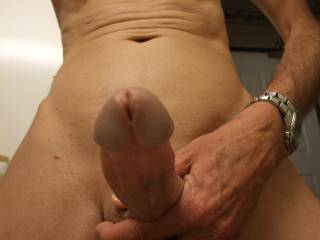 Ooooh yeah I want that cock....I'd suck it then ride it and after you cum...I'd suck it again....right out of my pussy.  MILF K