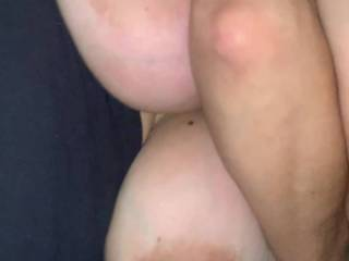 Wifes large melons