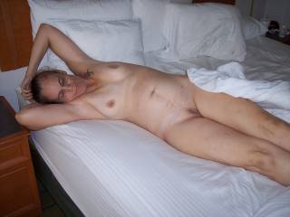 Really wet after being fucked all night long in all my holes. Candi
