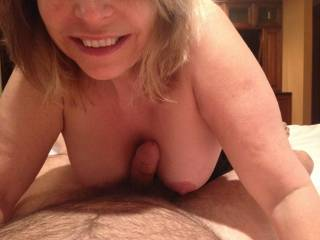 Would you cum all over me if I let you tit fuck me?