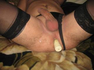 Stay like this and let me suck your balls while wanking slowly this great dick... i want to feel your cum blast deep in my mouth...