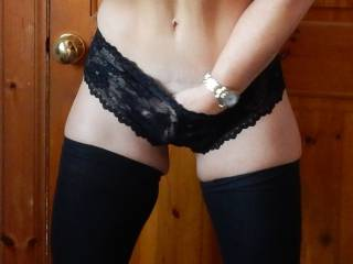 Oh babe! You look so damn sexy and ready for a good fucking! I'm on my way! I want to suck your delicious nipples as I thrust my hard cock into you!