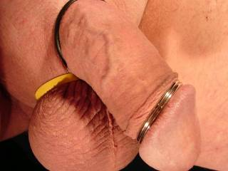 Awesome cock. I love suckin a big hard smooth cock like yours. The cockrings are a real bonus. I'd love to suck the cum right out of that awesome piece until it explodes all over my mouth and face.