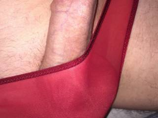 My cock hard and ready for your attention. What will you do to make me cum?