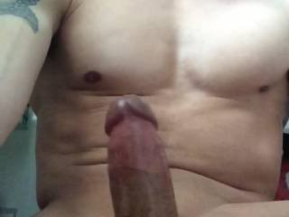 Watching zoig vids and stroking my hard cock until exploding with cum. God it felt great! Who wants to feel me explode deep inside them?