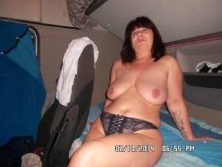 Hello dicks cum on my big tits