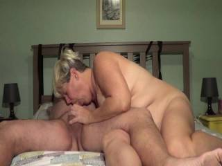 The Mrs. Soprano showing how to suck a cock. Would you let her give yousr a try?