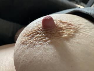 Super hard nipple