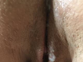 Creamy pussy... ;)