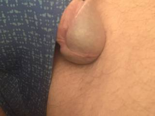 Hmmmm just the tip of your tongue for the tip of my cock