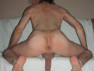 Need a cock in my ass and a hand on my hard cock