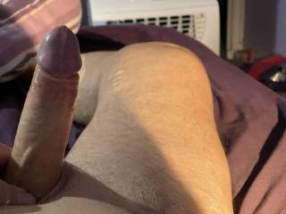 I like finding my cock like this in the morning