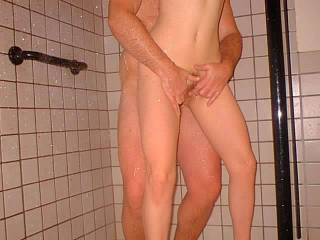 hi love to join you in the shower and eat her pussy as you fuck her ass drop me a line ok