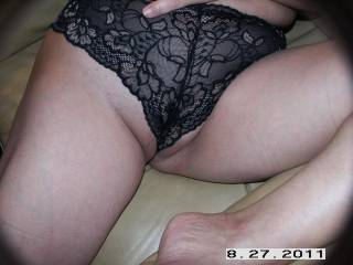 yes there hot love to taste u with them on !!! i'm so horny now thanks !!!!