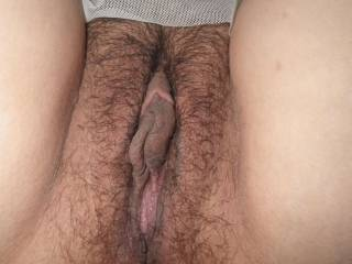 Nice, trimmed, LICKABLE pussy!!  And I bet that it tastes as good as it looks!!!!    ~Michael  FYI, I am ALWAYS hungry, and would love to dine at your y for a MULTIPLE-CUM, I mean multiple-course dinner!!!
