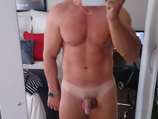 hell yeah x sexy body just love the tan lines too hmmm x