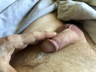 Just had an orgasm masturbating with a friend while phone sexting.