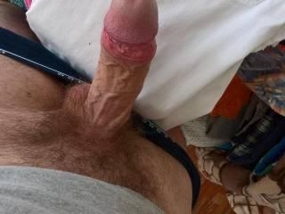 my fat veiny cock