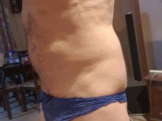 Horny in panties n stockings