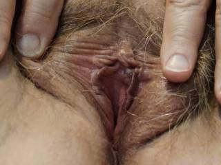 How about a natural (hairy) and tight pussy for that cock of yours? Take care of this married pussy with your cock. I need you to fuck me hard and deep as Hubby watches. I am \'all\' yours, my dear.