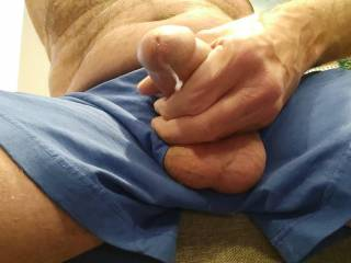 Ladies... I could really use a clean-up. It is your fault that I was stroking to your sexy photos. By the way, I have a video of me stroking my hard, thick cock just for you.