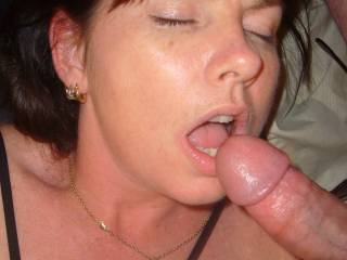 Damn, this is one of the sexiest shots I've seen here... I would love to join you two just to see her cum, before giving her some of my own...  Very sexy..