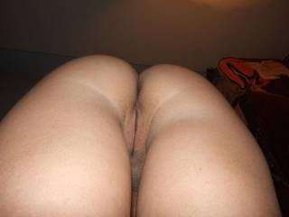 This is what I see when my lovely wife sit on my face. So, could you be the next face?