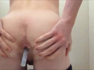 Wish that was my cock in that hot little ass