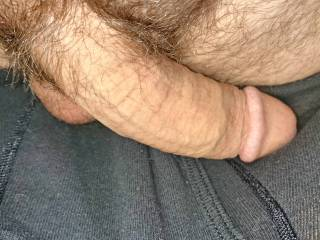 No wonder you cum so hard!  With that big cock in you!!