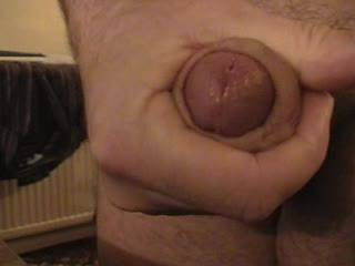 Just showing off my hard cock after chatting on the phone with a lady friend