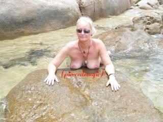 My wet titties!!