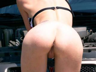 You have the cutest little ass....Need a new spark plug???