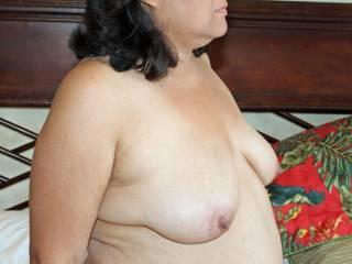 Exposing my tits & nips!