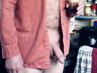 Fixed some coffee! (just an excuse to show my penis off)