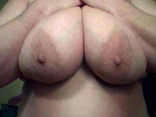 I would like to see just how big and hard I can get your nipples to grow and saturate every beautiful inch of those areola and nipples with my mouth!