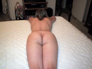 That is a beautiful ass!!! and her back is very sexy also