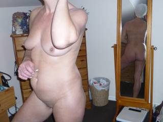 hard and horny for your sexy body :-)
