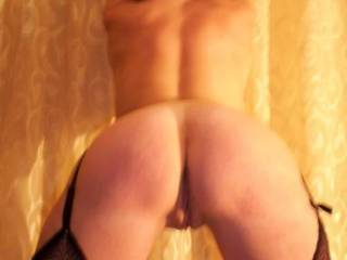 ~wide grin~ ahh, i'd love to give your sexy ass a hot spanking with my hand and my cock...also wouldn't be able to resist licking and massaging your ass before giving you a good fuck until i pull out to shoot my hot cum load over your ass :)