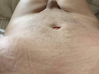 Bodyshot of mature male slave