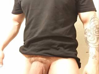 my huge cock ready to feed some mouths