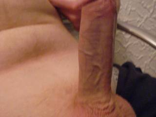 damn and your shaved smooth.......im a sucker for a shaved cock.....