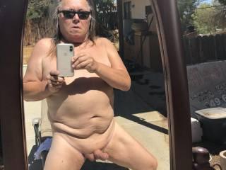 Sunbathing and being a weekend nudist