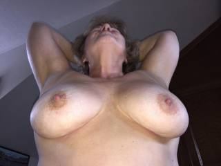 My nipples get so hard when riding hard boy cock! Right now I am sucking Mr Seeker's cock with my pussy and fucking the cum right out of him!!