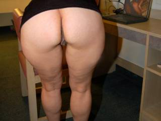 Great ass and legs....can I lick your ass?