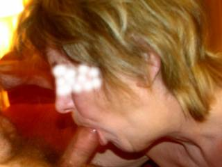 wife blowjob in hotel room